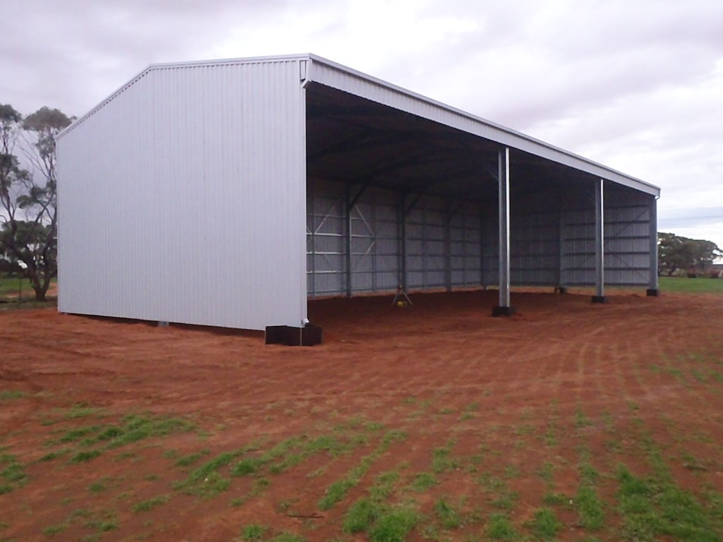 Farm sheds wa hay machinery storage sheds aussie sheds for Farm shed ideas