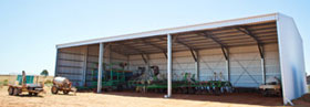 Farm machinery sheds wa