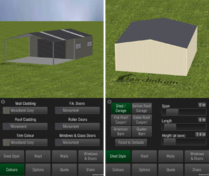 Design Your Dream Shed Online Free Shed Design App Aussie Sheds