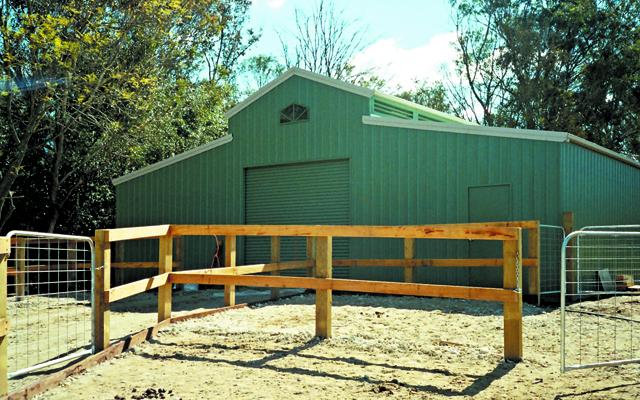 American barn stable