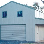 American Barn - with verandah on one side