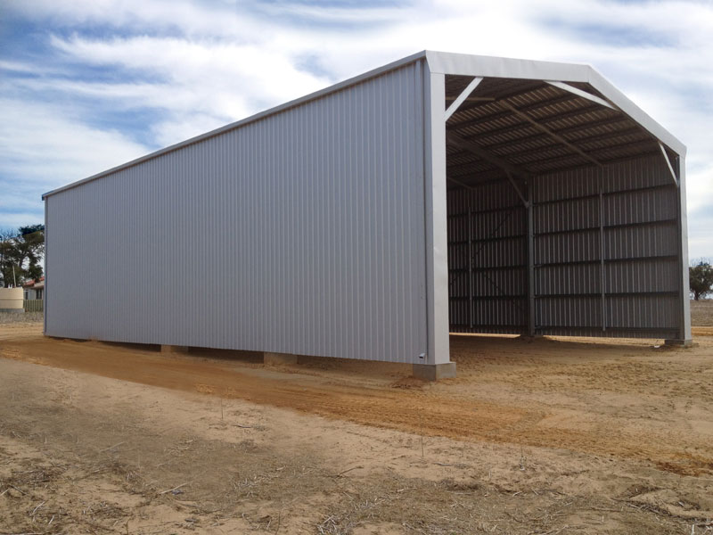 Farm sheds wa nt hay machinery storage sheds for Sheds and barns