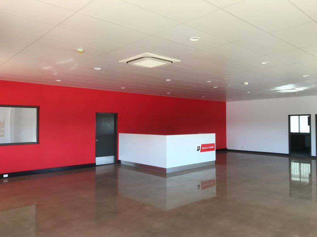 Bridgestone Port Hedland Shed Reception