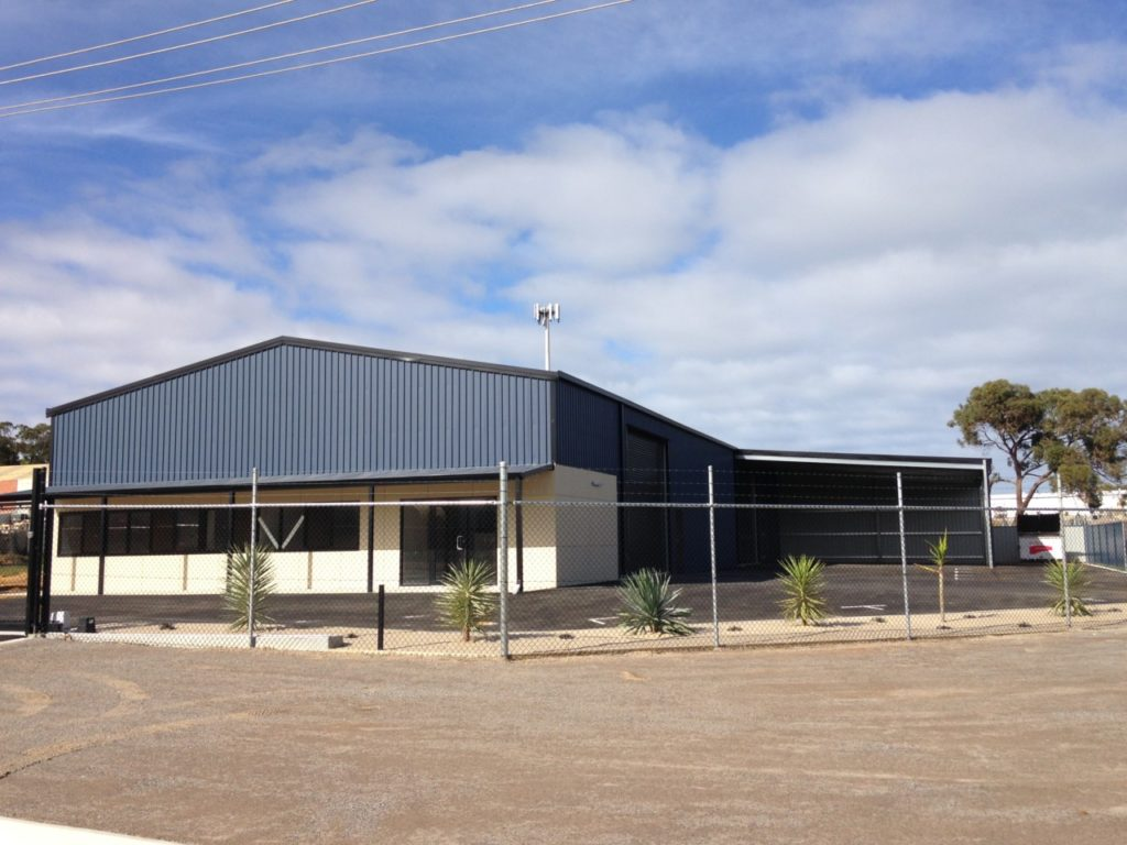 Geraldton Commercial Shed Turnkey Project