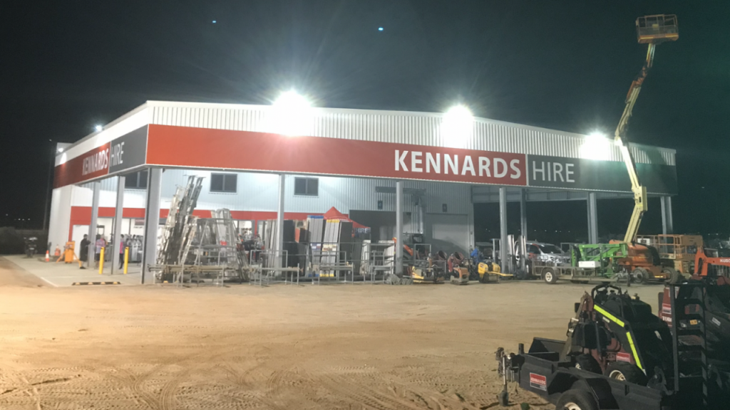 Kennards Hire Shed in Port Hedland