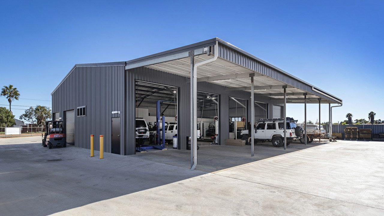 O'Brien's 4WD Geraldton shed workshop