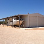 Broome shed - boat garaport