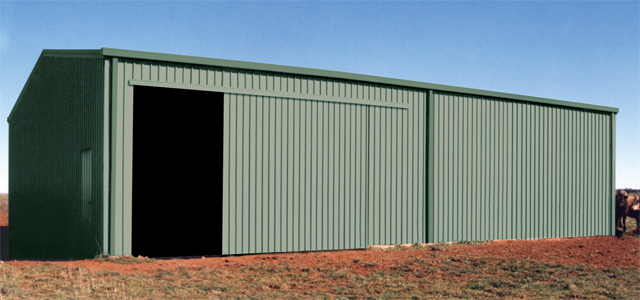 Farm sheds wa nt hay machinery storage sheds for Farm sliding door