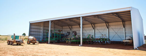 Farm sheds wa nt hay machinery storage sheds for Farm shed ideas