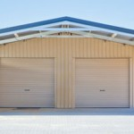 Double Garage with Garaport