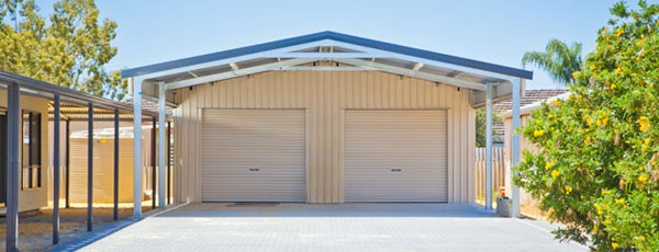 is a single garage a multi door garage backyard shed acreage shed