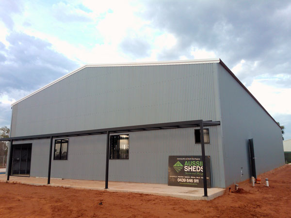 Broome industrial shed plasterboard supplier aussie sheds